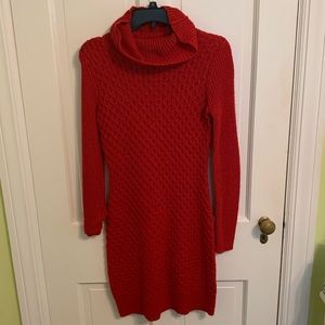 Holiday sweater dress, worn once